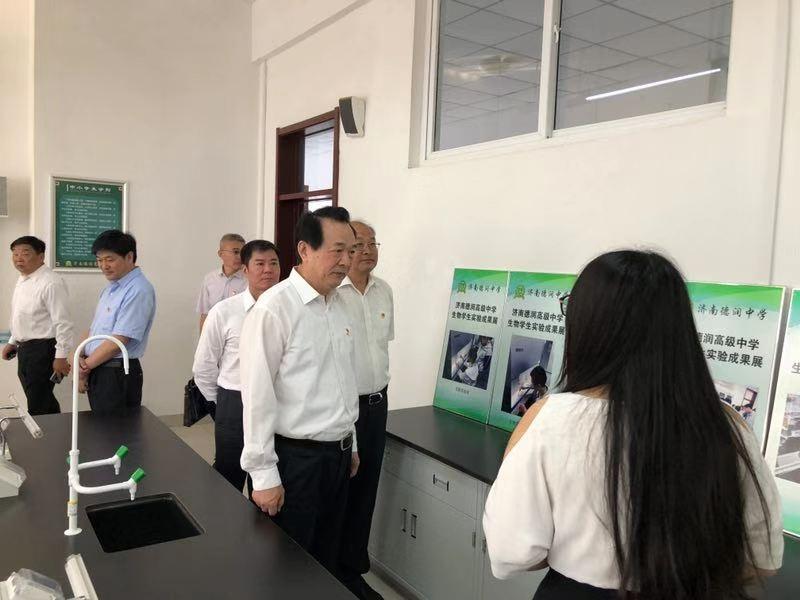济南市百万学子在开学第一天向祖国宣誓